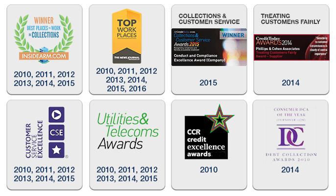 Phillips & Cohen Associates (UK) Awards and Accolades