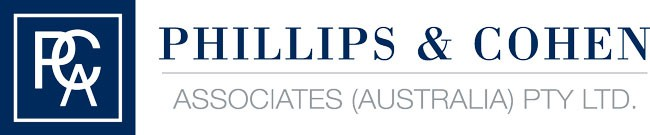Phillips & Cohen Associates (Australia) PTY LTD. Retina Logo